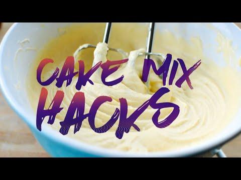 My Box Cake Mix Tricks | August 25th 2016