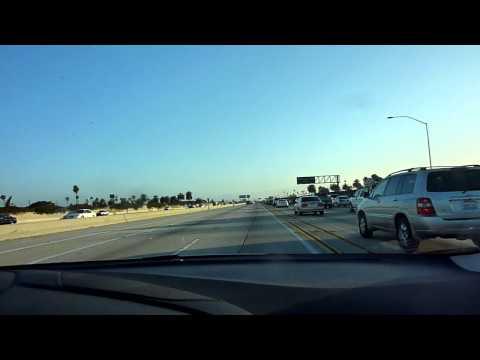 Transit lane avoiding LA traffic rush hour