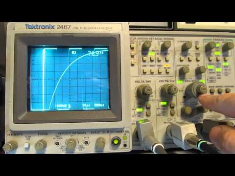 #90: Measure Capacitors and Inductors with an Oscilloscope and some basic parts
