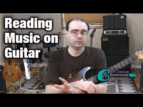 MUSIC READING - Level 1: Reading Music Notes on the Guitar