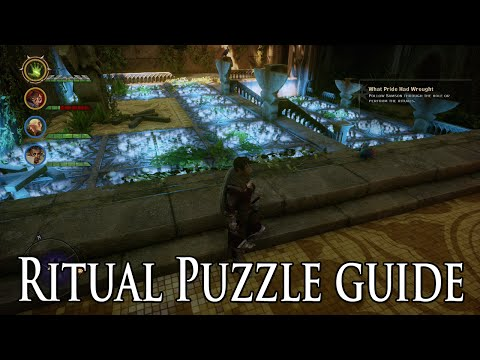 Dragon Age: Inquisition - Mythal's Rites of Petition Temple Ritual Puzzle Guide