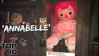 Top 10 Scary Items At The Warren Occult Museum