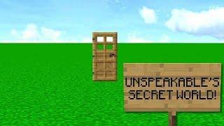 FANS FOUND MY SECRET MINECRAFT WORLD!