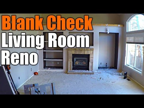 High Budget Living Room Remodel | THE HANDYMAN