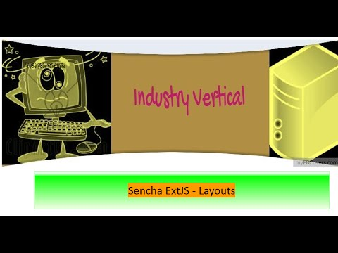 Sencha ExtJS 6 - Layouts