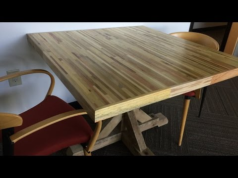 Office Meeting Table From Pallets - Pallet Up Cycle Challenge 2015