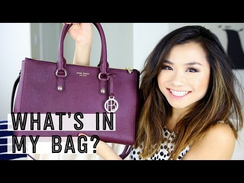 Henri Bendel West 57th Carryall Bag Review + What's in my bag? | Miss Louie
