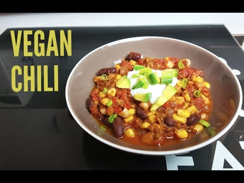 ULTIMATE VEGAN CHILI - (PERFECT FOR MEAL PREP) - CookingwithKarma
