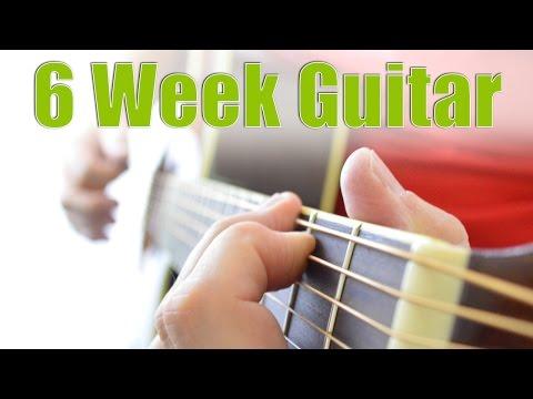 6 Week Guitar. Free Beginners Guitar Course