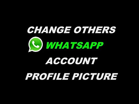 HOW to change others whatsapp dp - Prank