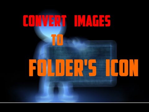 How to make your photo to icon of your Folder