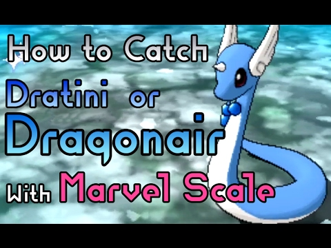 How to Catch a Dratini or Dragonair with Marvel Scale Hidden Ability - Pokemon Sun and Moon