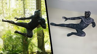 Stunts From Black Panther In Real Life (Marvel, Avengers)