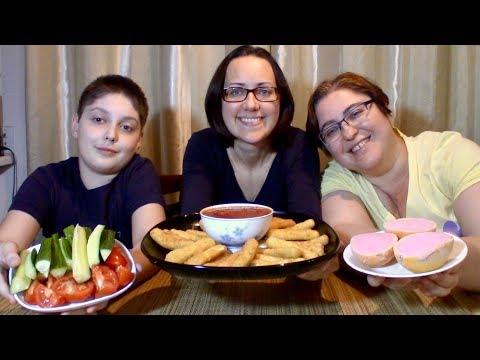 Cheese Sticks | Gay Family Mukbang (먹방) - Eating Show