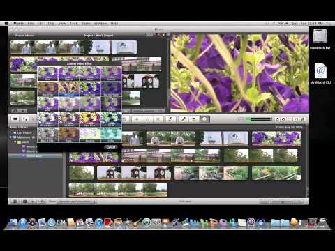 iMovie 11: Applying Video Effects
