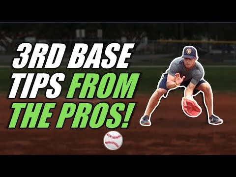 Pro Infielder Shares 🔥  3rd Base Tips To LOCK DOWN The Hot Corner!