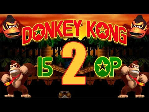 Donkey Kong is 2 OP - Smash Bros. Wii U Montage