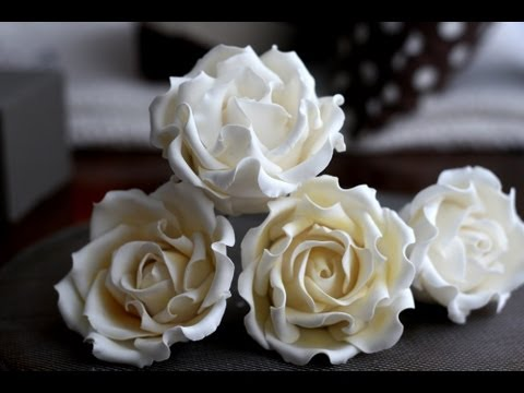 How to Make a Sugar Rose; A McGreevy Cakes Tutorial