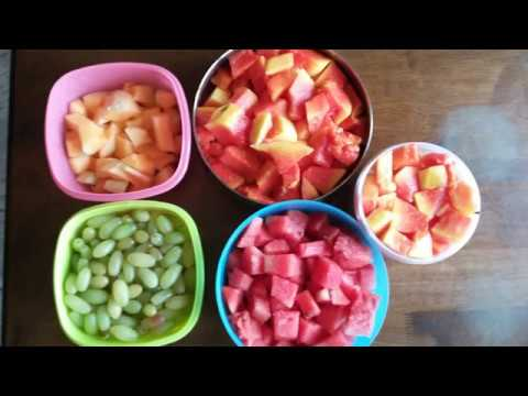 How to Cut and Store Fruits in Fridge | Simple & Easy way to keep Fruits Fresh