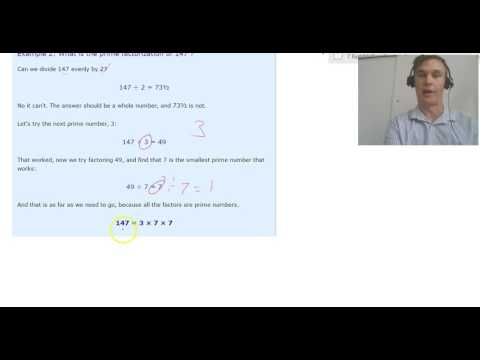 Prime Factors Strategy   Repeated Division
