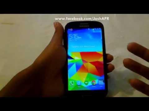 Instala el Widget del Clima importado del Galaxy S4