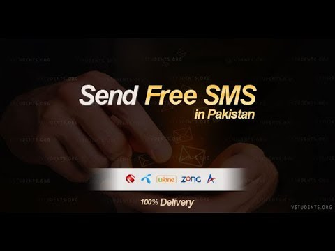 Free sms send pakistan to pakistan without number with proof