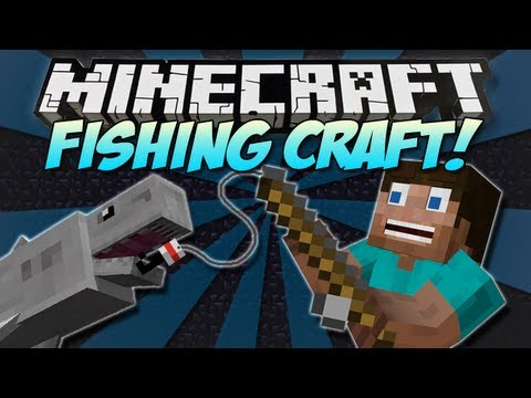 Minecraft | FISHING CRAFT! | Mod Showcase [1.4.7]