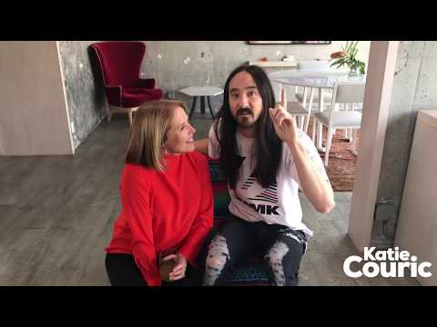 STEVE AOKI AND I ARE GETTING OUR BRAINS SCANNED!