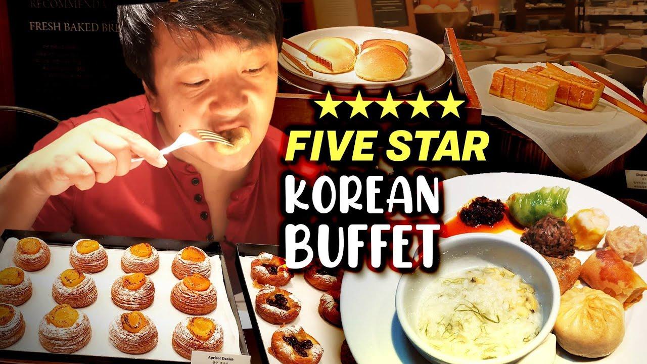 All You Can Eat FIVE STAR Korean BREAKFAST BUFFET