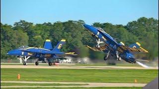 Blue Angels Spectacular at Oshkosh - Sat 29 July 17