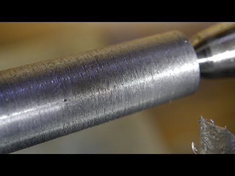 Turning a MT2 taper on my old lathe