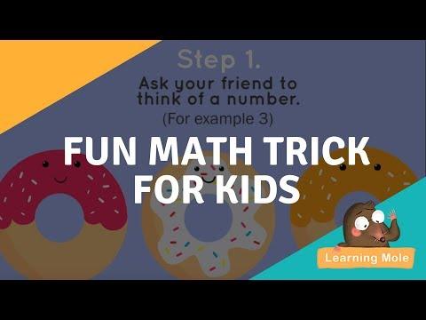 Fun Math Trick for Kids - Improve Your Mental Maths - LearningMole