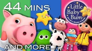 Ten Little Baby Bum Friends | + More Nursery Rhymes and Kids Songs | Compilation By LittleBabyBum!