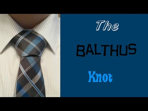 Slow It Down Thursday: How To Tie The Balthus Knot