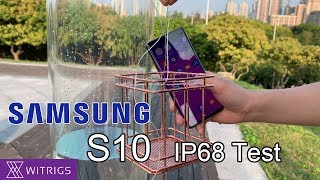 Samsung Galaxy S10 Waterproof Test