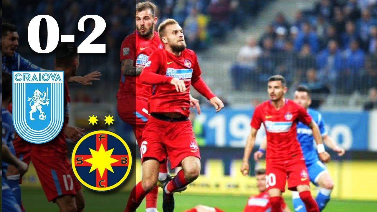 Rezumat: U Craiova - FCSB  0-2 Etapa 8 Play Off Sezon 2018-2019
