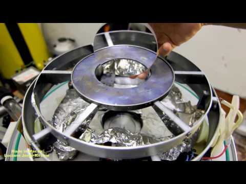 Home made Vacuum chamber 2.0 for telescope coating mirror
