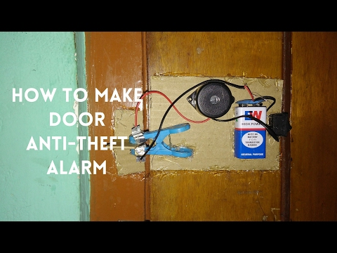 How to make Anti-Theft door alarm