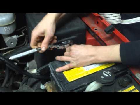 how to take out a battery on a 03 chevy silverado