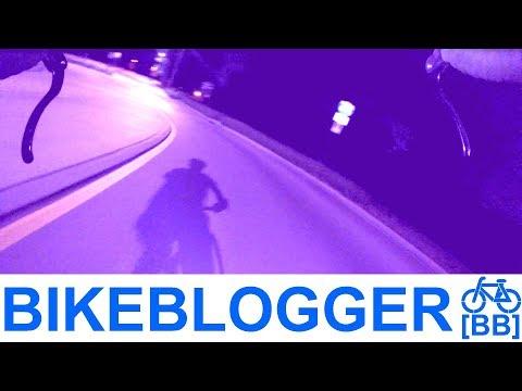 Roundabout Velodrome Late Night City Cycling Bike Blogger
