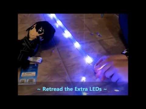 Easy! DIY Lightsaber! ~ Sword Art Online 2 (Cosplay)