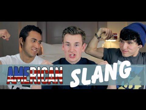 BRITISH BOY LEARNS AMERICAN SLANG!