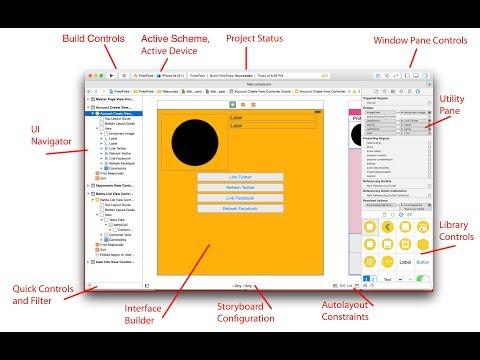 iOS Mobile App Development Tutorial For Beginners -4 - Interface Builder