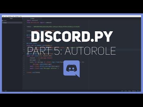 Discord.py: Making a Discord bot (Part 5: Autorole)