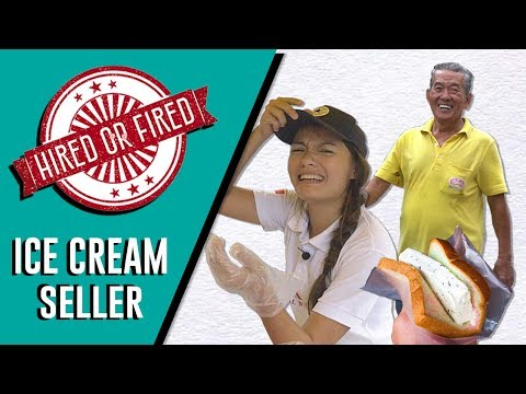 *NEW SERIES* HIRED OR FIRED: ICE-CREAM SELLER FOR A DAY