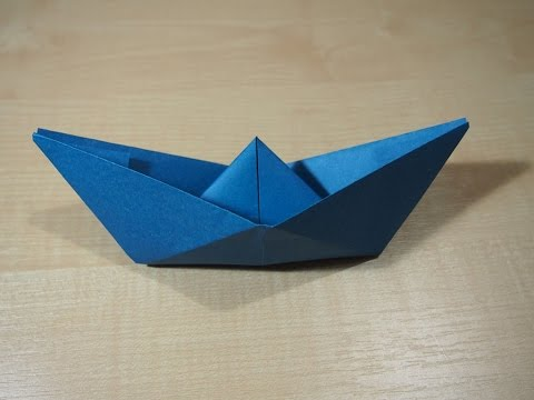 Origami for Beginners – Easy Boat