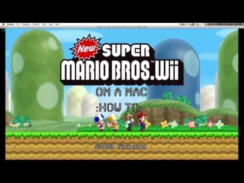 How To Run Wii & GameCube Emulator on MAC or PC