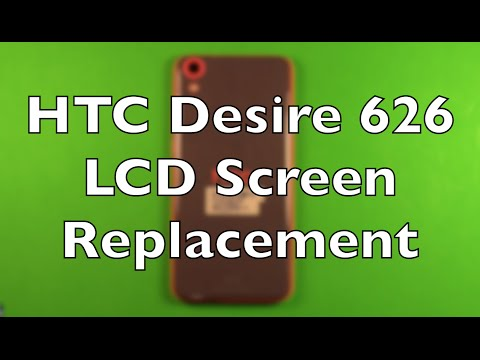 HTC Desire 626 Screen Replacement Repair How To Change