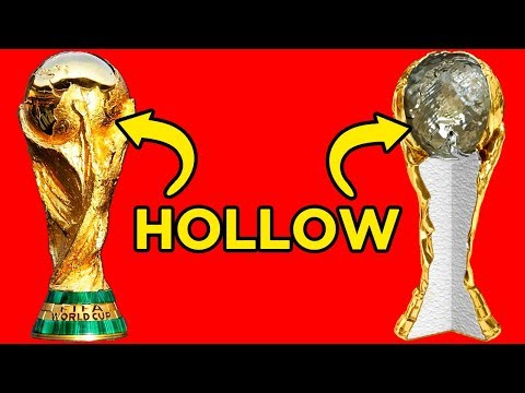 10 Things You Didn't Know About The World Cup Trophy
