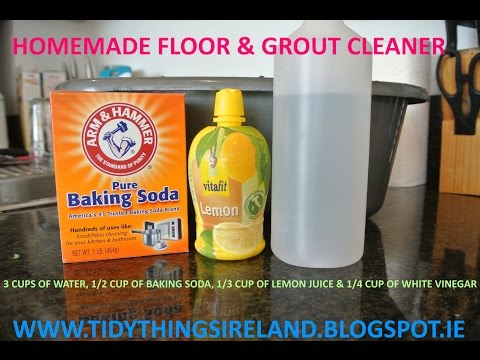 Pinterest| Tile & Grout Homemade Cleaner| Does it work?